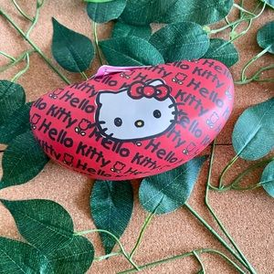 Hello Kitty Clam Shell Red Sunglasses Case
